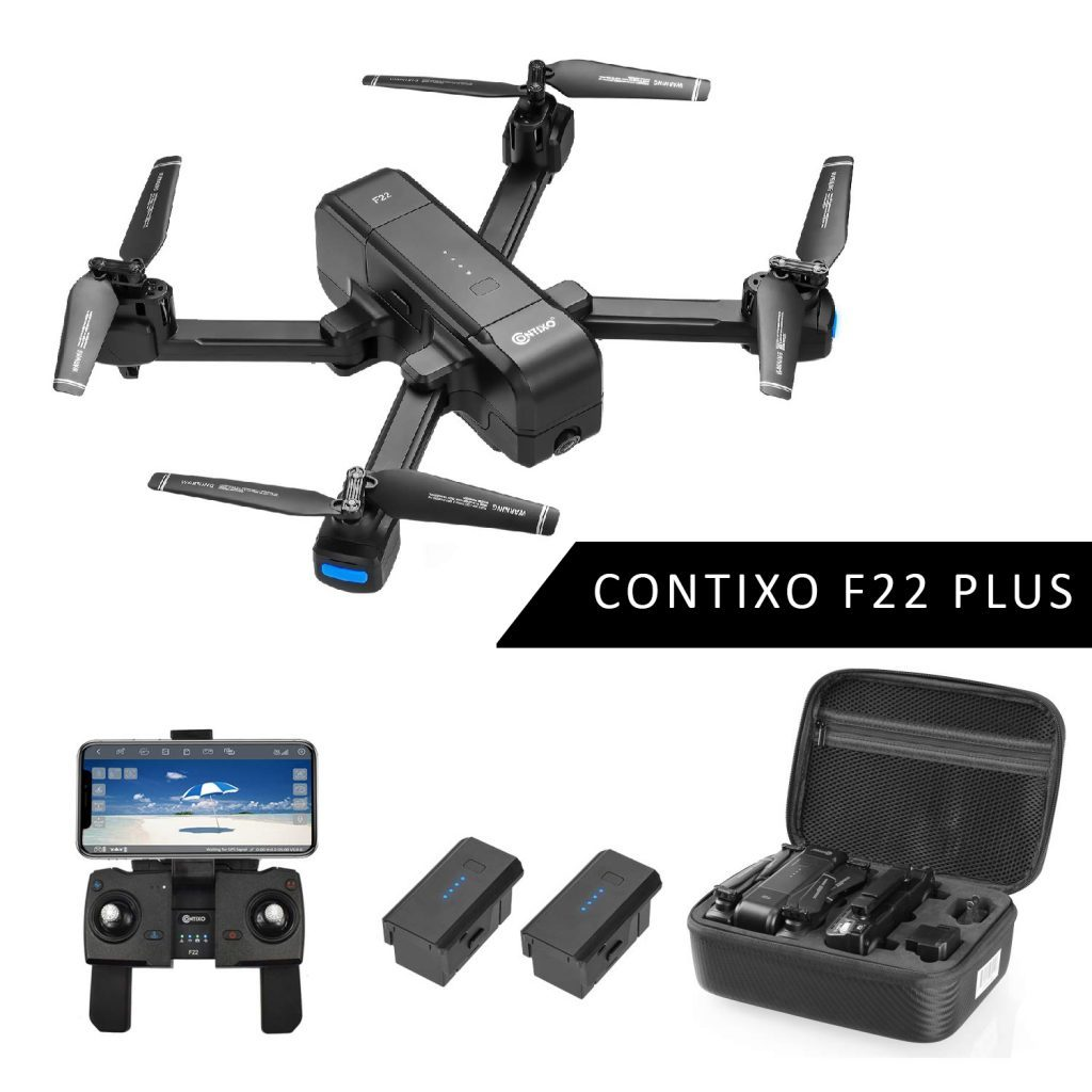 contixo f22 foldable drone is at #2 for the best drones under 200