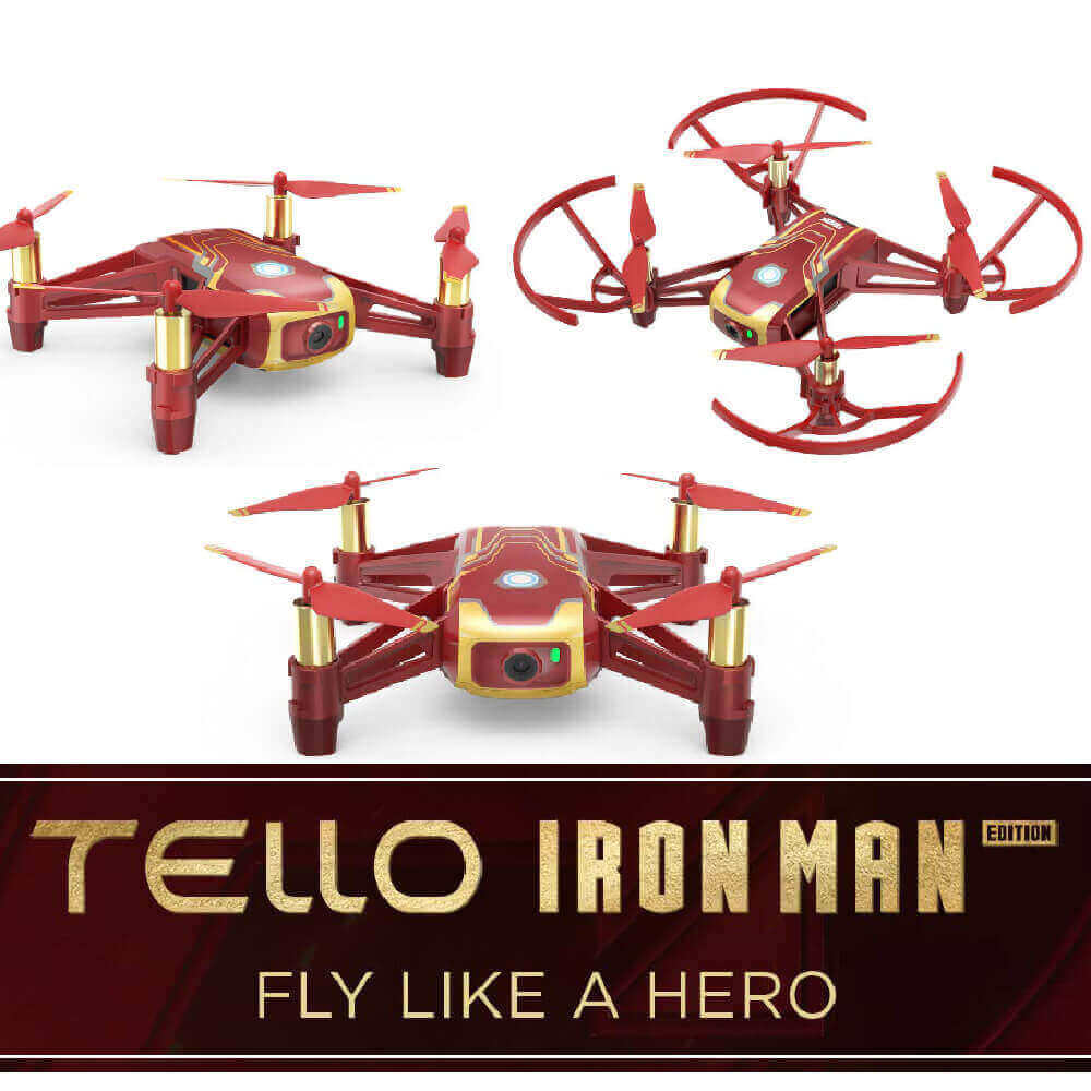 DJi Tello review Ironman Edition is best drone under 200