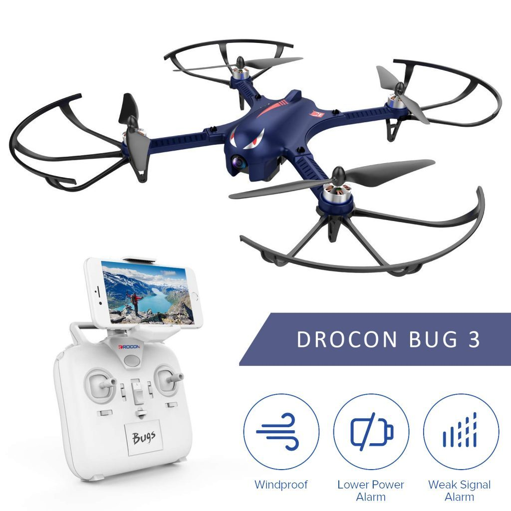 drocon bugs 3 is at #14 for best drones under 200 $