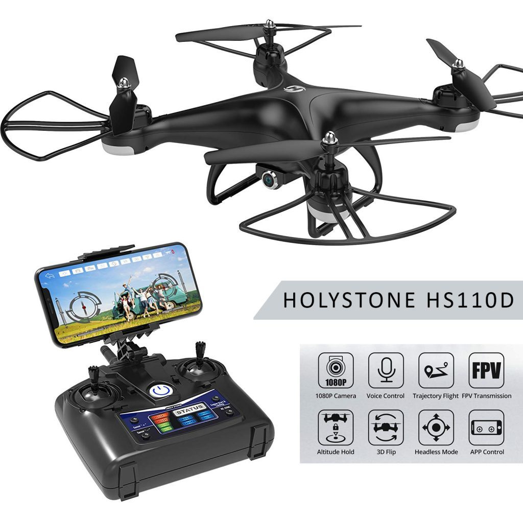 holy stone hs110d is at #7 for best drones under 200