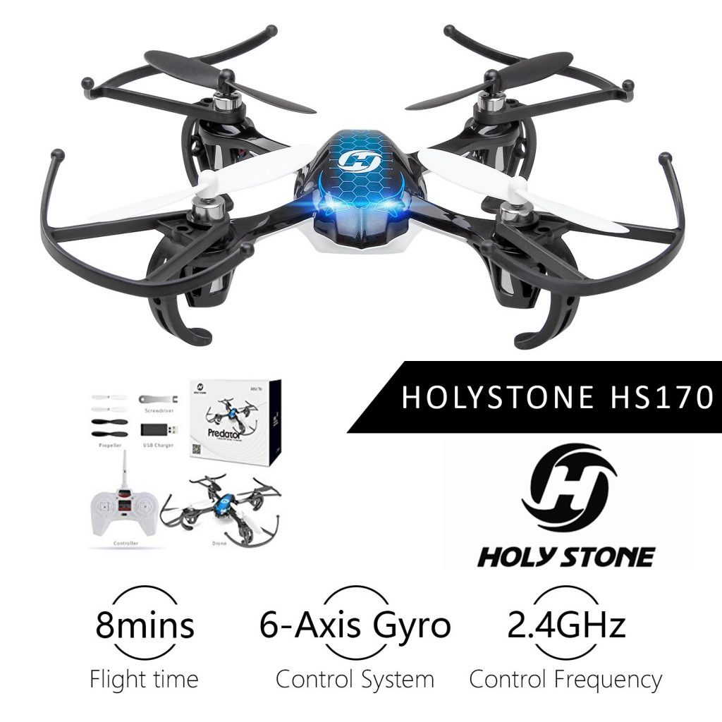 Holy Stone HS170 is at #17 for best drones under 200 dollars