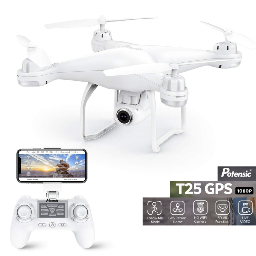potensic t25 is at #4 for best drones under 200