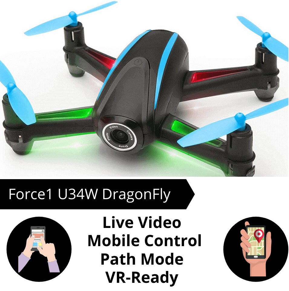 force1 u34w dragonfly is the best drone under $100