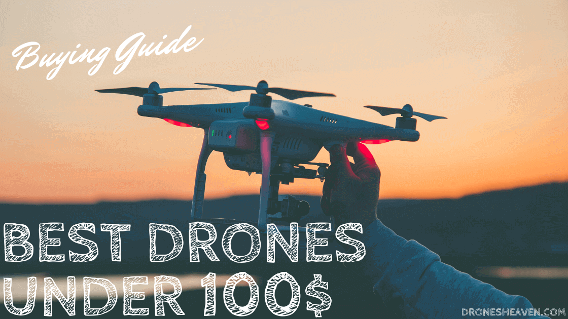 12 Best Drones Under 100 Dollars For 2021 (July Updated)