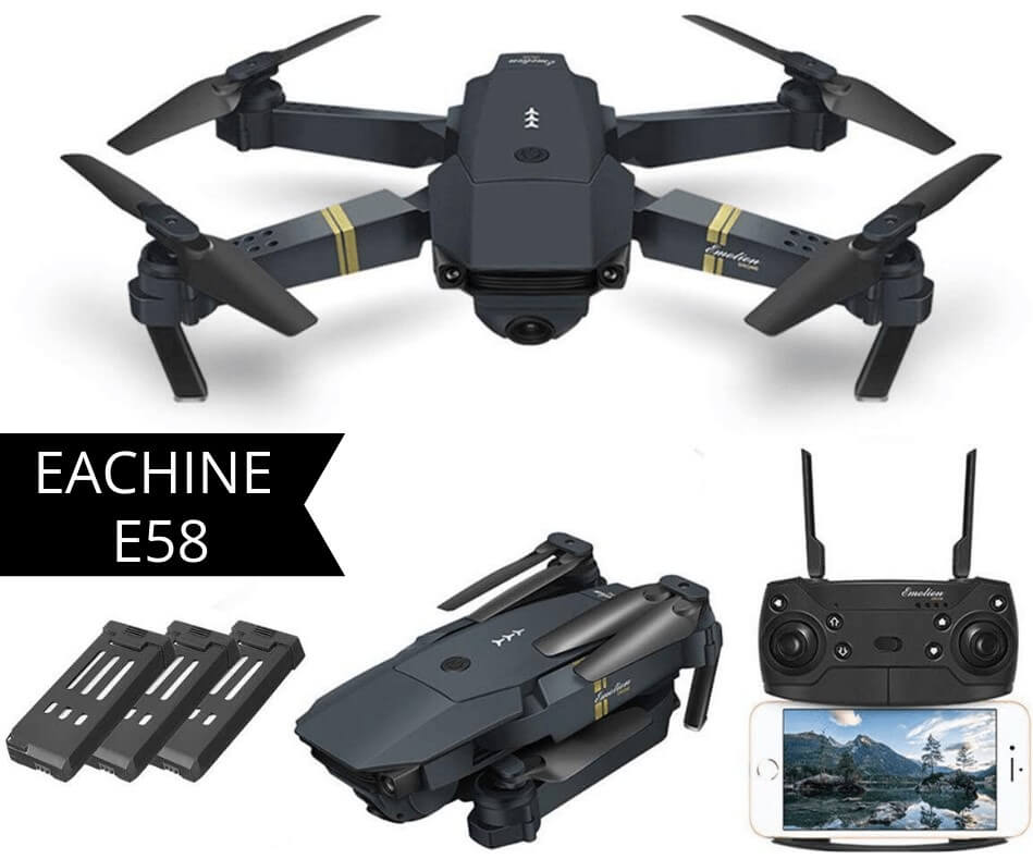 eachine e58 is the best fpv drone under 100