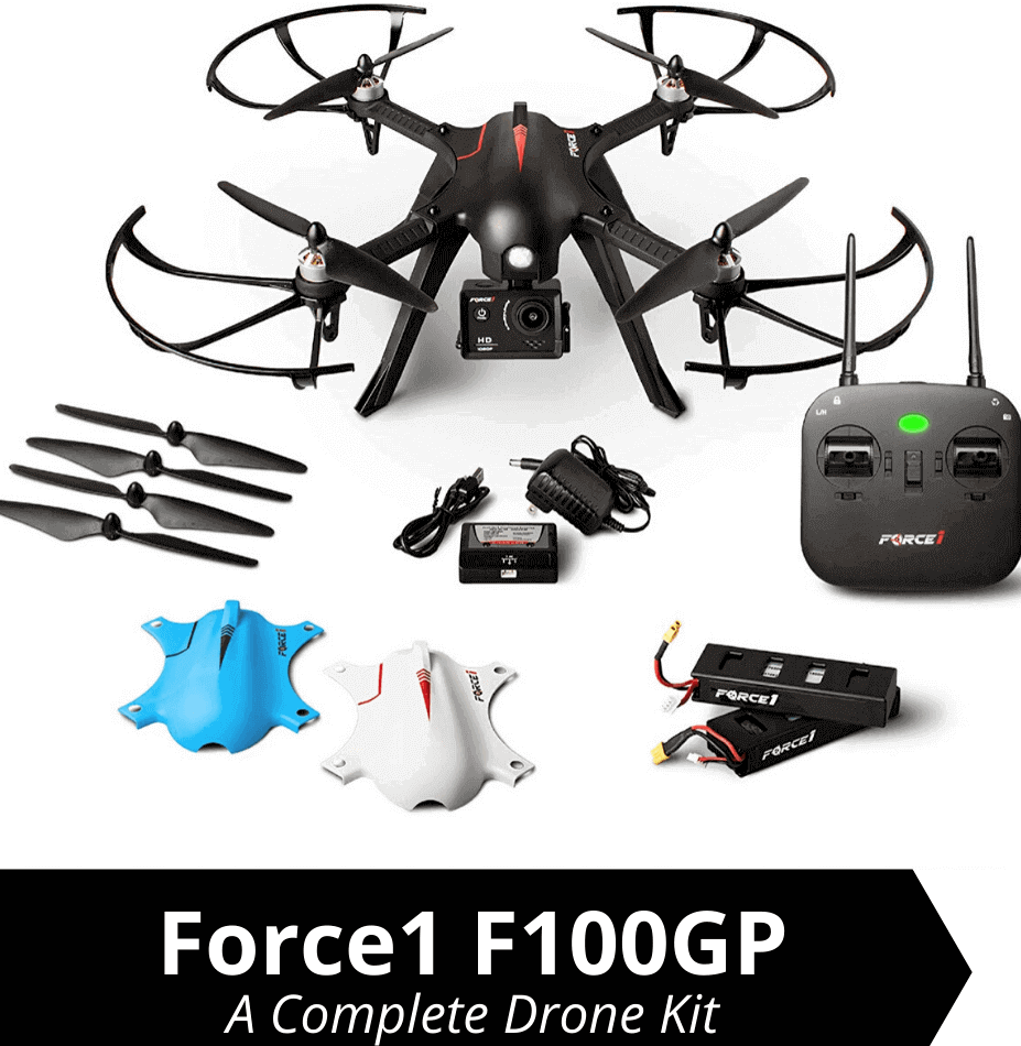 force1 f100gp is the best drones with camera under $100