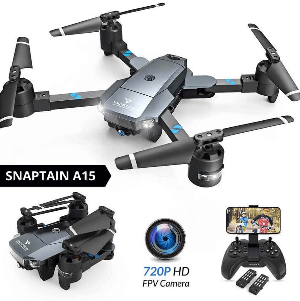 snaptain a15 is at #12 for best drone under 100
