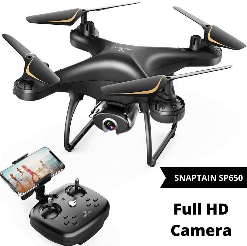 Snaptain Sp650 drone is best quadcopter under 100