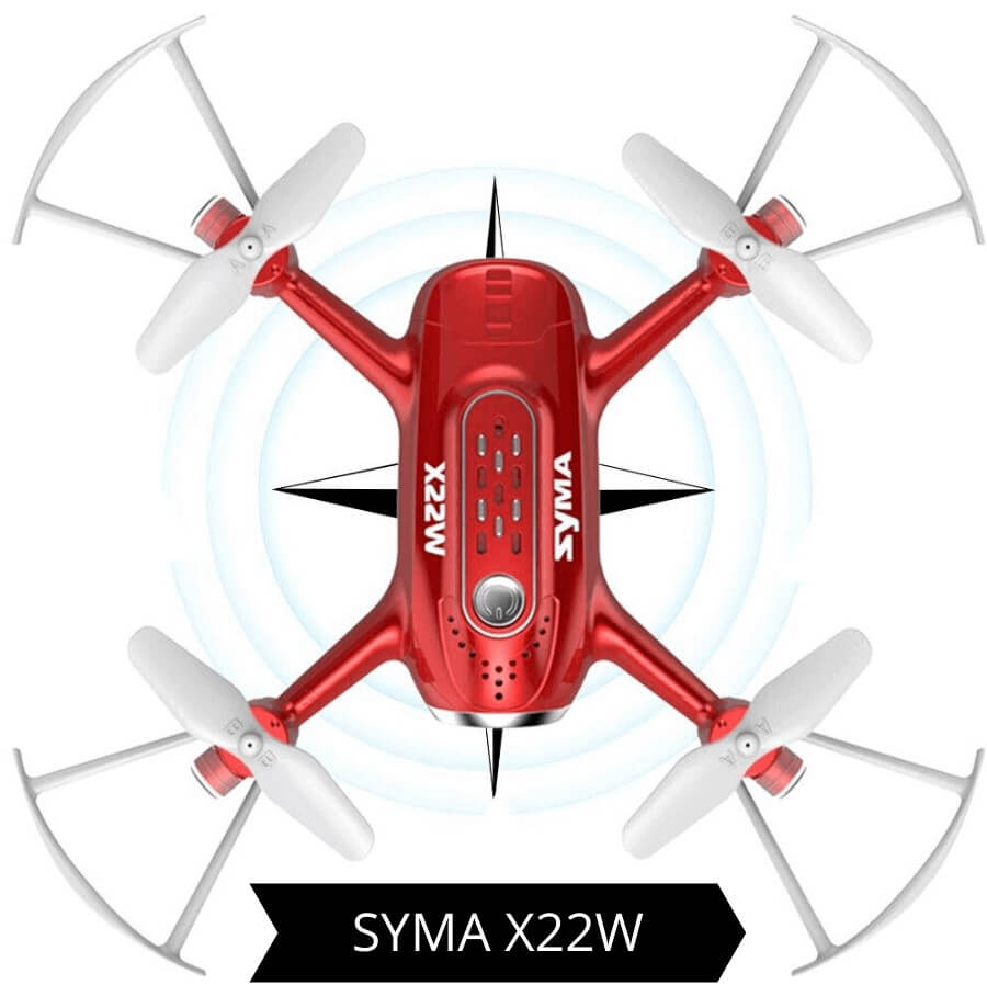 syma x22w is at #5 for the best drones under 100