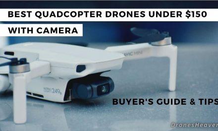 8 Best Camera Drones Under $150 – Buying Guide (October 2021)